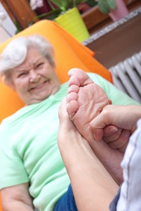 The Skin May Change In Elderly Feet